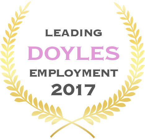 Leading Doyles Employment 2017